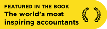 Featured in the book - The World's Most Inspiring Accountants